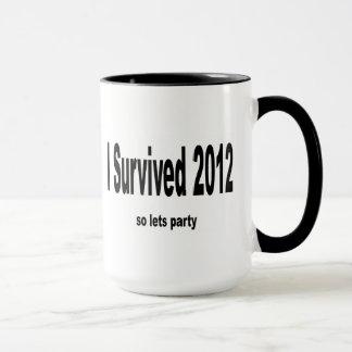 """I Survived 2012"" Mug. Mug"