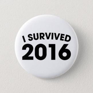I Survived 2016 2 Inch Round Button