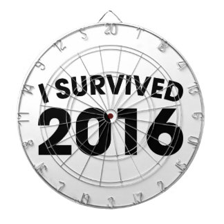 I Survived 2016 Dartboard