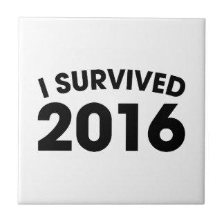 I Survived 2016 Tile
