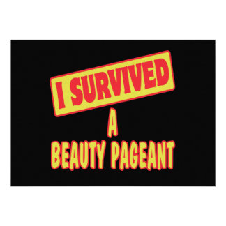 I SURVIVED A BEAUTY PAGEANT ANNOUNCEMENTS