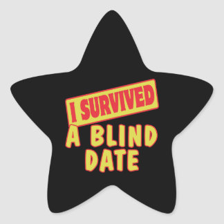I SURVIVED A BLIND DATE STAR STICKERS