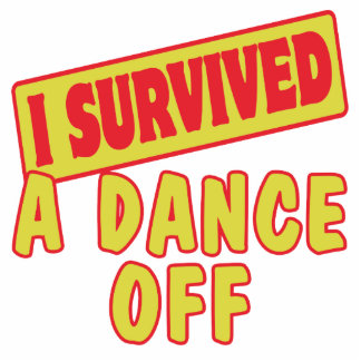 I SURVIVED A DANCE OFF PHOTO SCULPTURE