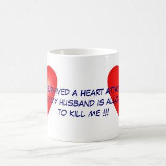 I survived a Heart Attack Coffee Mug