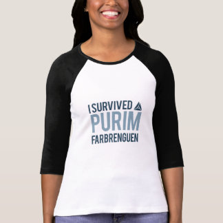 I survived a purim farbrengen T-Shirt