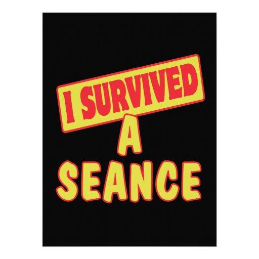 I SURVIVED A SEANCE CUSTOM INVITES