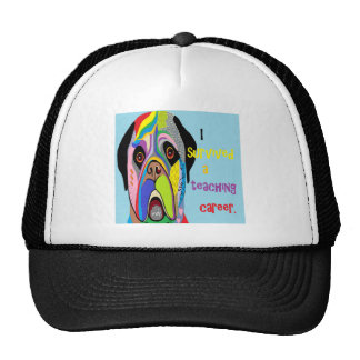 I Survived a Teaching Career Trucker Hat