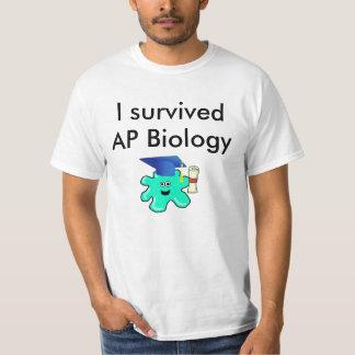 I Survived AP Biology T-Shirt