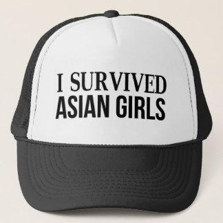 I Survived Asian Girls Trucker Hat