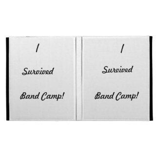 I survived band camp! iPad folio cover
