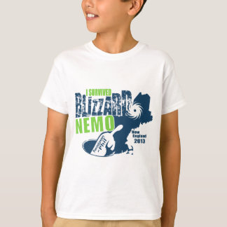 I Survived Blizzard Nemo T-Shirt