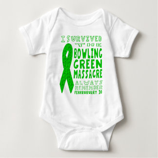 I Survived Bowling Green Massacre Baby Bodysuit