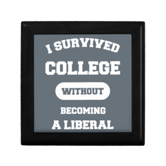 I Survived College Without Becoming A Liberal Gift Box