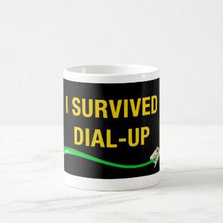 I Survived Dial-Up Mug! Coffee Mug