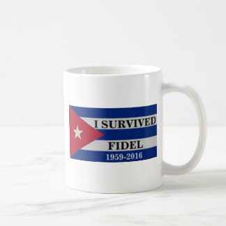 I survived Fidel Coffee Mug