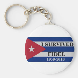 I survived Fidel Keychain
