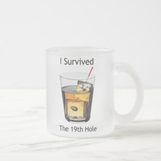 I Survived Frosted Mug