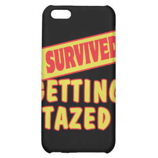 I SURVIVED GETTING TAZED iPhone 5C CASE