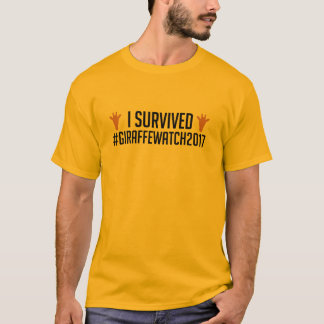 I Survived #GiraffeWatch2017 T-Shirt