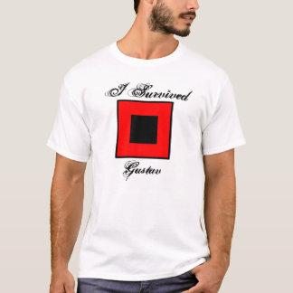 I Survived Gustav T-Shirt - Front & Back