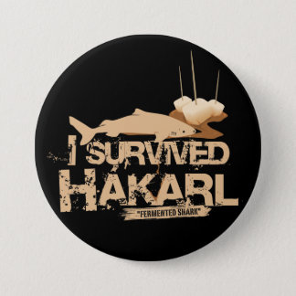 I survived Hákarl Button