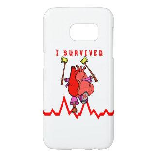 I survived heart trauma samsung galaxy s7 case