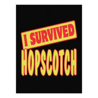 I SURVIVED HOPSCOTCH ANNOUNCEMENTS