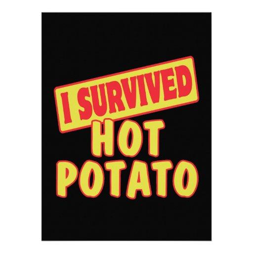 I SURVIVED HOT POTATO CUSTOM ANNOUNCEMENT