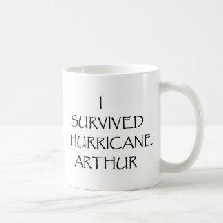 I Survived Hurricane Arthur Coffee Mug