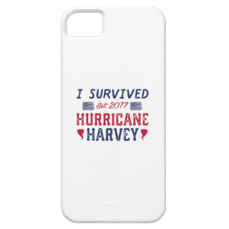 I Survived Hurricane Harvey iPhone 5 Covers