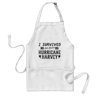 I Survived Hurricane Harvey Standard Apron