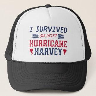 I Survived Hurricane Harvey Trucker Hat
