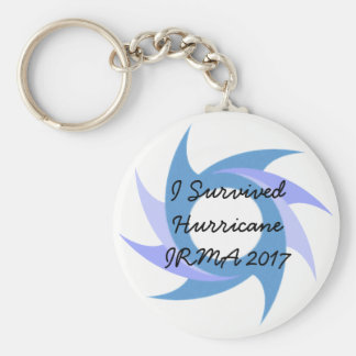 I Survived Hurricane Irma 2017 Button KEY CHAIN