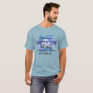 I Survived Hurricane IRMA 2017 T-Shirt