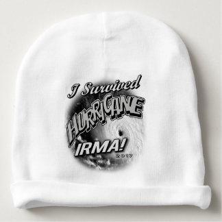 I Survived Hurricane Irma Baby Beanie