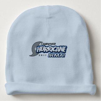 I Survived Hurricane Irma Boys Baby Beanie