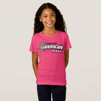 I Survived Hurricane Irma Girls Shirt