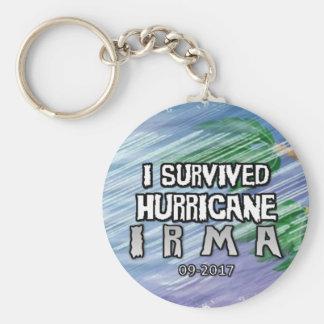 I survived Hurricane Irma Keychain