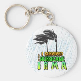 I survived Hurricane Irma Keychain