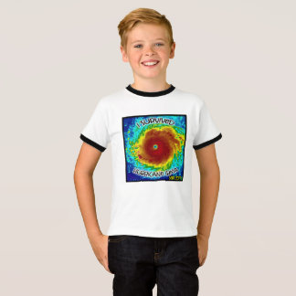"""I survived hurricane irma kid's t shirt"" T-Shirt"