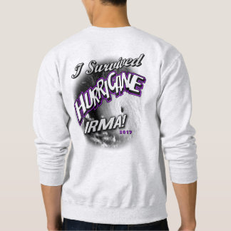 I Survived Hurricane Irma Mens Sweat Shirt