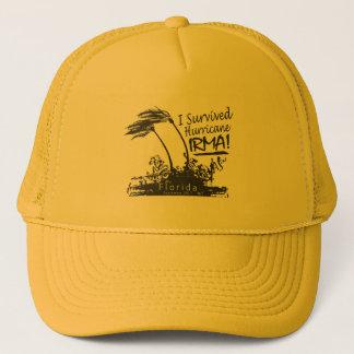I Survived Hurricane Irma Trucker Hat