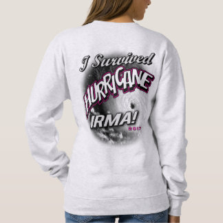 I Survived Hurricane Irma Womens Sweat Shirt