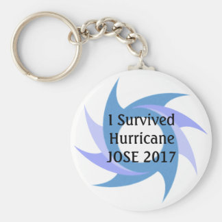 I Survived Hurricane JOSE  2017 Button KEY CHAIN