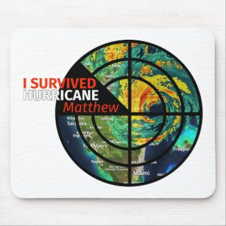 I Survived Hurricane Matthew - Storm Survivor Mouse Pad