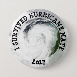 I Survived Hurricane Nate 2017 Button