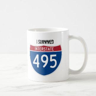 I Survived I-495 CommuterTrooper Coffee Mug