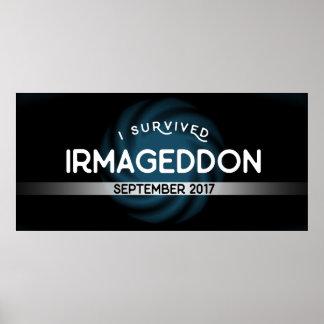 I Survived Irmageddon Poster