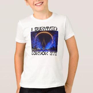 I SURVIVED, LONDON EYE T-Shirt