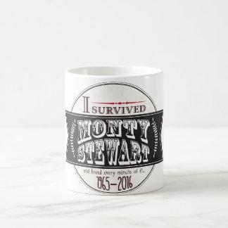 I Survived Monty Stewart... Classic White Coffee Mug